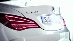 2014 CLA45 AMG Premiere -- All-New CLA 4-Door Coupe -- Merc