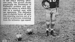 Dick Kazmaier Princeton Heisman Trophy Winner