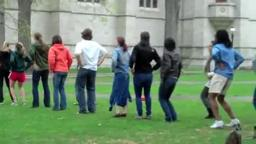 Princeton Flash Mob.