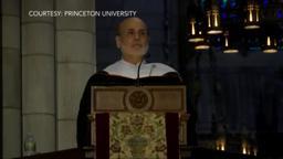 Ben Bernanke Princeton graduation