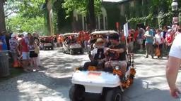 The P-rade Begins! 2013 Princeton University