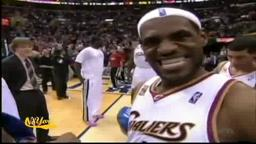 LeBron vs, Joakim Noah. Dancing like Michael Jackson.