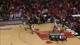 Joakim Noah's Steal and Spectacular Slam Over Pierce.