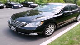 2007 Lexus LS #P11913, Lawrenceville.