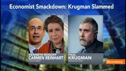 PrincetonNobelPrize Krugman vs. Harvard Rogoff