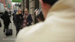 FashionWeekMercedes Mercedes-Benz Fashion Week Street Style'