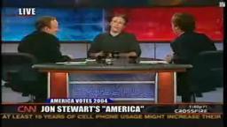 JonStewart/Crossfire Lawrence High grad Jon Stewart stripping Crossfire
