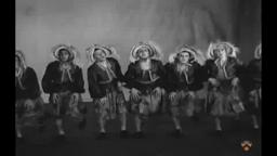 "Triangle Club ""Chorines,"" 1929 and movie trailer, 1936"